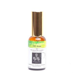 Антиейдж Био Серум – нощна грижа за смесена към мазна кожа със Сквалан/Нар/Таману/Вечерна Иглика/Лешник – 30 ml.