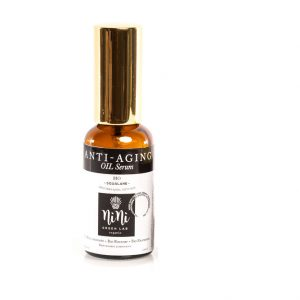 Антиейдж Био Серум – нощна грижа за нормална кожа със Сквалан/Нар/Камелия/Марула – 30 ml.